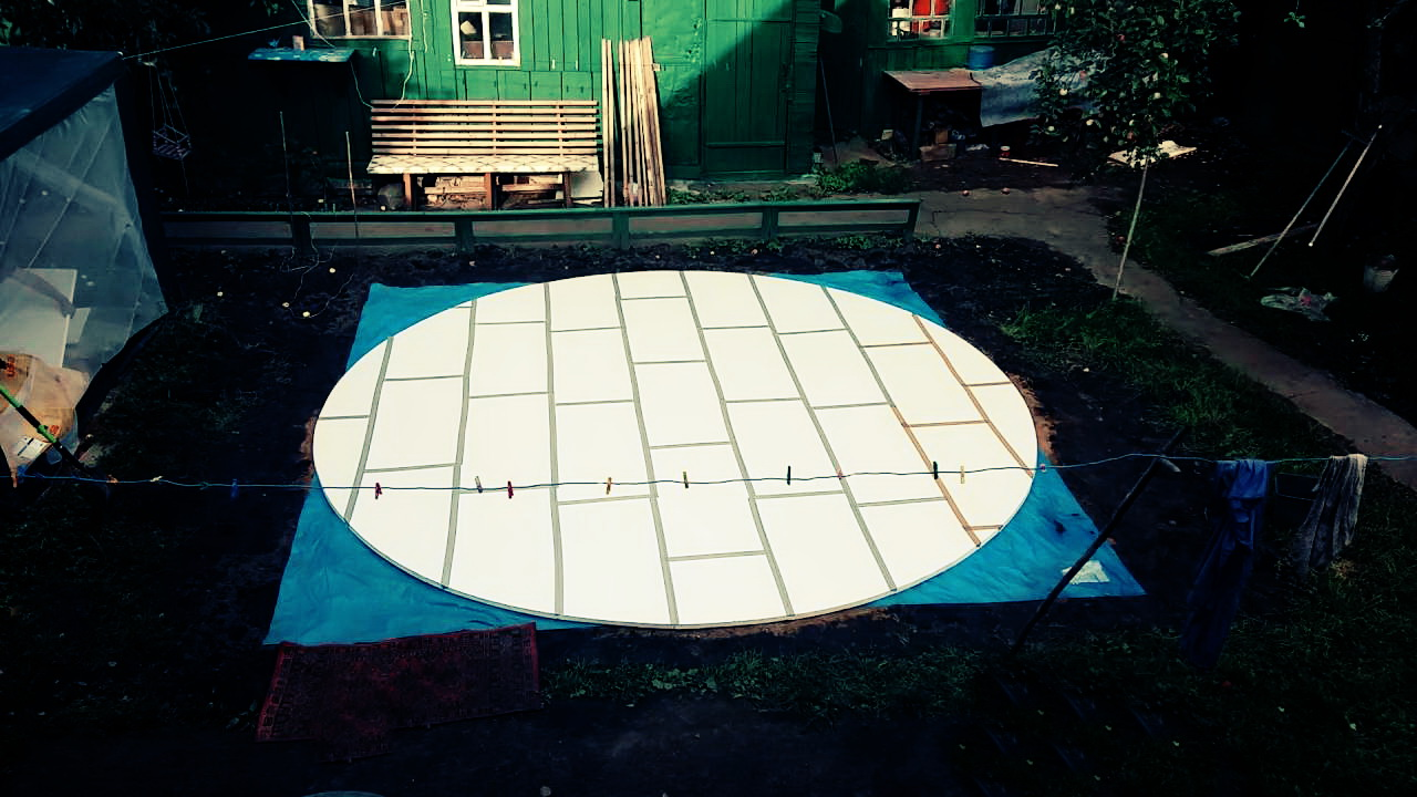 подложка для бассейна