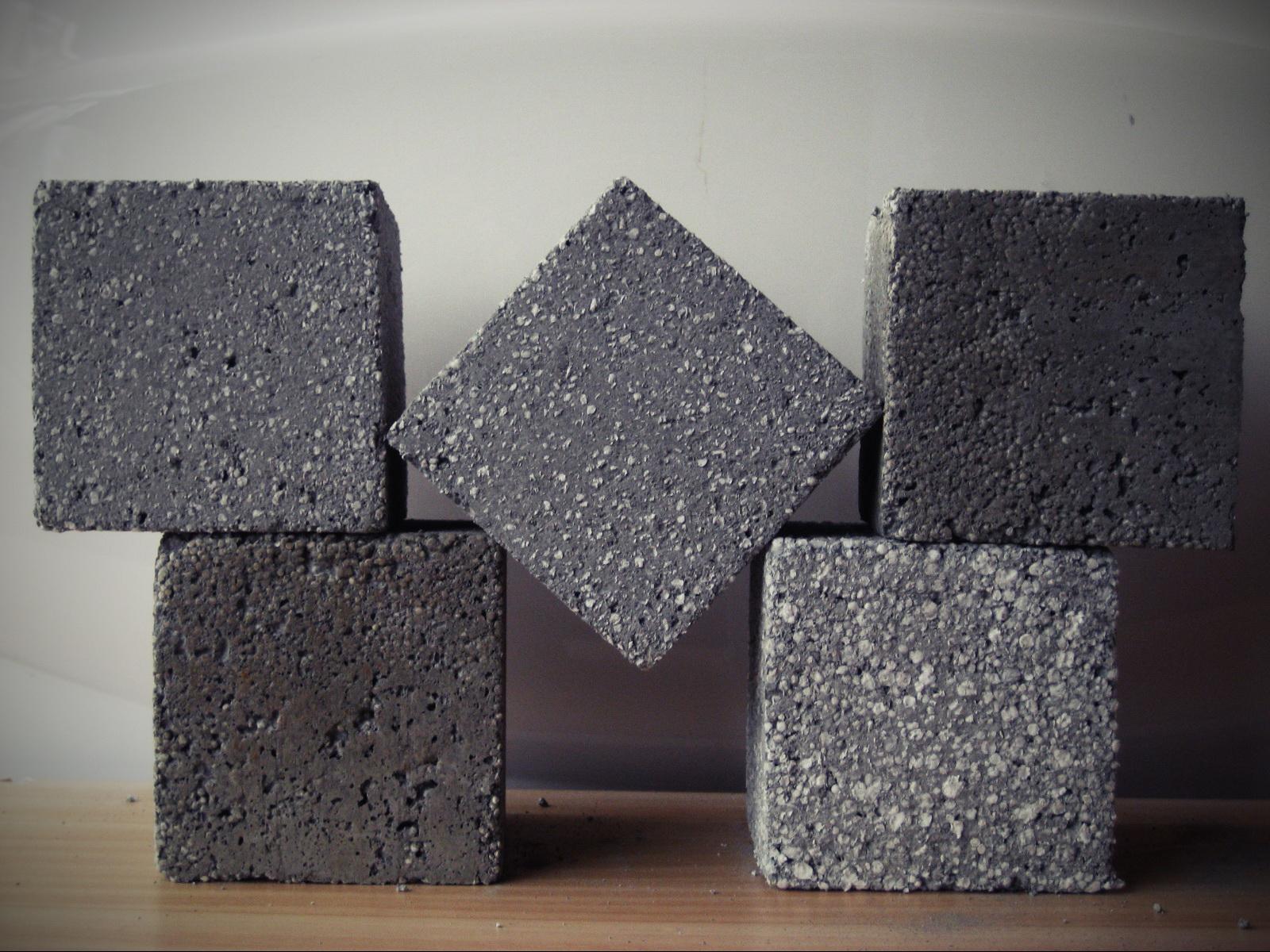 Пенополистирол на цементный раствор мешочек бетон